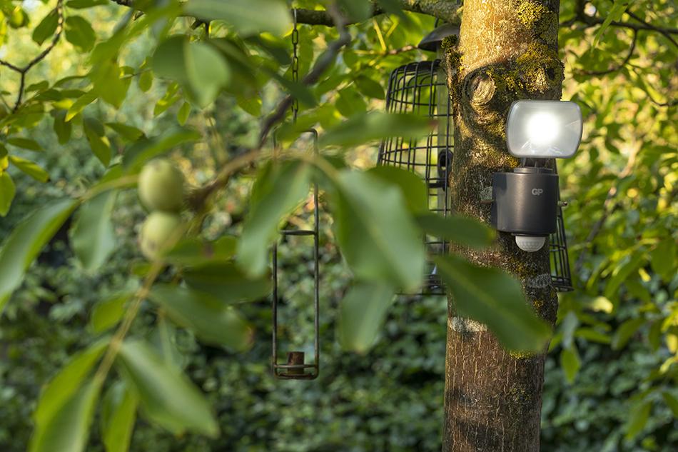 De ideale buitenlamp met schemersensor gp safeguards gp batteries